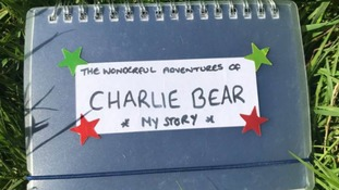 A book of the bear's adventures was also discovered on site