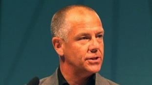 GMB general secretary Tim Roache