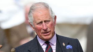 Prince Charles takes delivery of the Royal Family's first electric car
