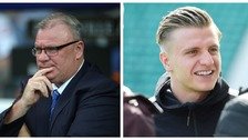 Steve Evans (left) and Jason Cummings (right) have both been nominated.