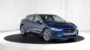 The I-Pace which Prince Charles will use.