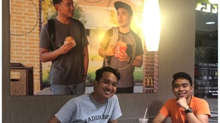 Student poster prank in Texas McDonald's goes unnoticed for almost two months