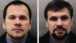 PM says Salisbury nerve agent attack suspects Alexander Petrov and Ruslan Boshirov are Russian intelligence officers