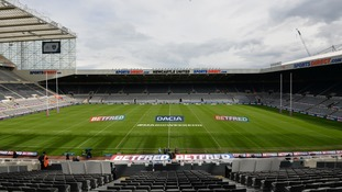 England to play test in Newcastle for the first time in preparation for World Cup