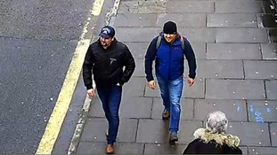 The suspects were then spotted at Fisherton Road, Salisbury at 1:05pm.