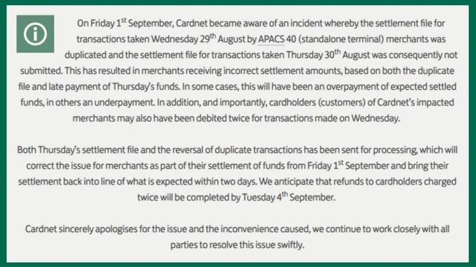 Thousands charged twice for purchases after debit card transactions a statement from lloyds banking group wrote a statement to explain the glitch reheart Choice Image