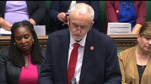 Mr Corbyn condemned the attacks and thanked police.