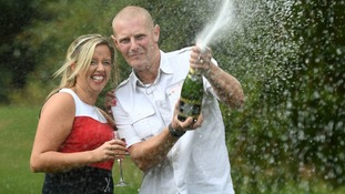 Cambridgeshire man thought lotto win was wife's prank