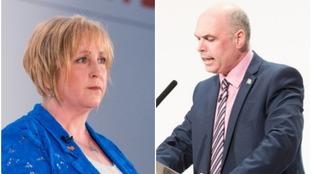 Suzy Davies and Paul Davies