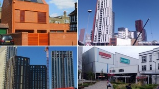 The finalists of Britain's ugliest buildings.
