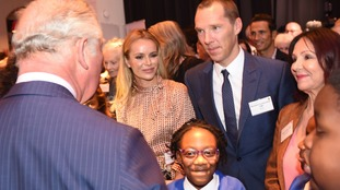 Hollywood actor Benedict Cumberbatch joined the event to discuss arts in school.