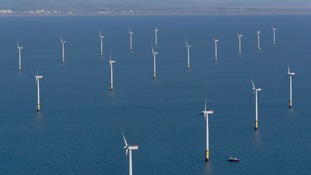 The world's largest working offshore wind farm opens in the North West
