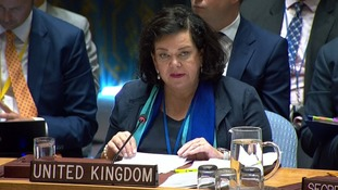 Karen Pierce, the UK ambassador to the United Nations, briefed the security council on the Salisbury nerve agent attack evidence.