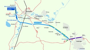 Plan to turn A14 in Cambridgeshire into motorway