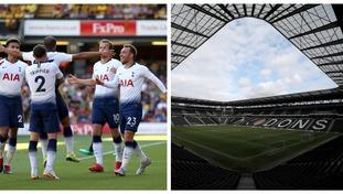 Tottenham will face Watford at Stadium MK.