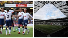 Tottenham will face Watford at Stadium MK.