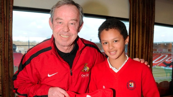 Doncaster Rovers' boss Brian Flynn &  Aaron Phillips-Richardson