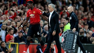 Pogba has admitted talk about his Man United future is 'inevitable' but insists his immediate future remains at the club