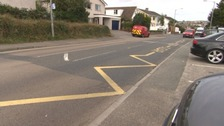 Parking or waiting on yellow keep clear and zig zags lines could attract a £70 fine.