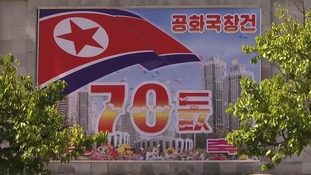 North Korea gears up to celebrate 70th year since founding as ITV News gets rare access to secretive state