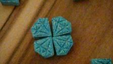 """The festival's Twitter account posted a warning about """"some 'bad' blue diamond pills""""."""