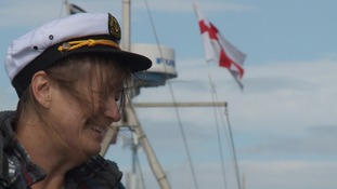 It's held to help celebrate the town's maritime past.