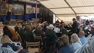 There was also live folk music and sea shanty songs.