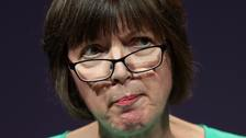 Ms O'Grady said it was 'more than disappointing' the Prime Minister had not consulted union leaders.