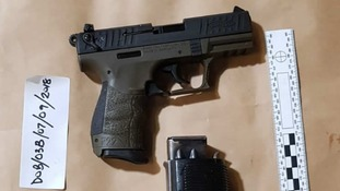 Twenty guns and drugs seized at the Port of Dover