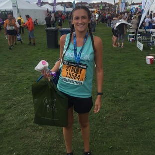 Congratulations to Stacey Daprato running in aid of the Newcastle Dog and Cat Shelter