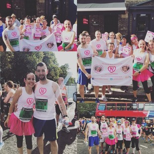 Congratulations to the Gail and Matthew Rich running with a team in aid of the Nicole Rich Foundation