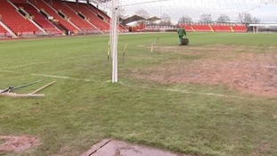 Pitch problems force Gateshead to seek alternative venue