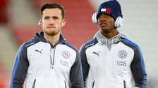 Ben Chilwell and Demarai Gray