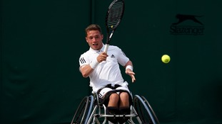 Alfie Hewett has now won two Grand Slam titles.
