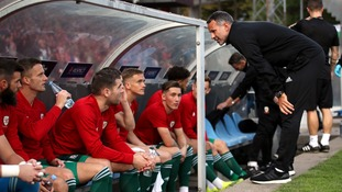 Wales boss Ryan Giggs has insisted his young side will learn from Denmark defeat in Uefa Nations League