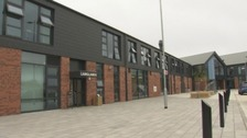 The new £28million campus opened three weeks ago, since then two pupils have been injured on separate occasions.