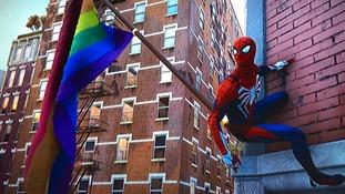 Pride flag in Marvel's new Spider-Man game sparks diversity debate