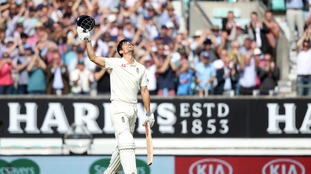 Alastair Cook signed off his England career with a century.