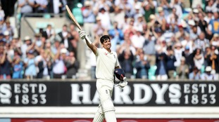 Alastair Cook hits century in final Test innings for England