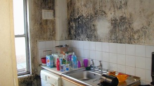 Poor rented accommodation