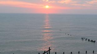 Happisburgh sunrise