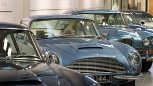 Aston Martin classic cars