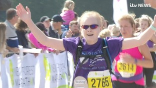 Inspiring Britain: A year after four cardiac arrests, cancer survivor runs half marathon for saviour hospital staff