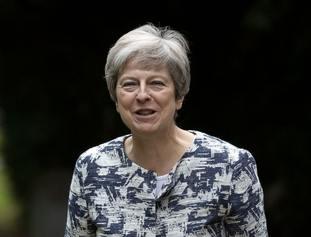 Theresa May Africa visit