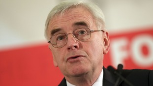 Shadow chancellor John McDonnell will say the Tories have stripped back employment rights to a level not seen since the 1930s.