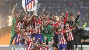Europa League holders Atletico Madrid.