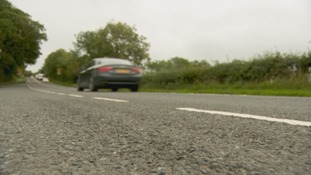 Almost 300 miles of roads in Cumbria have no phone coverage.