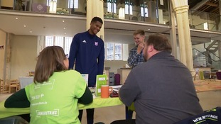Jordan Spence at the event.