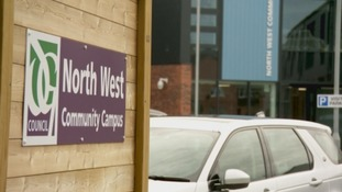 The North West Community Campus closed on Friday.