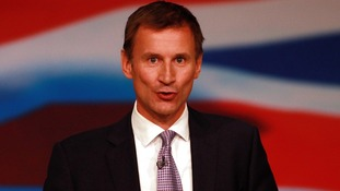 Jeremy Hunt has called on NHS bosses to stop the use of legal gas on whistleblowers.
